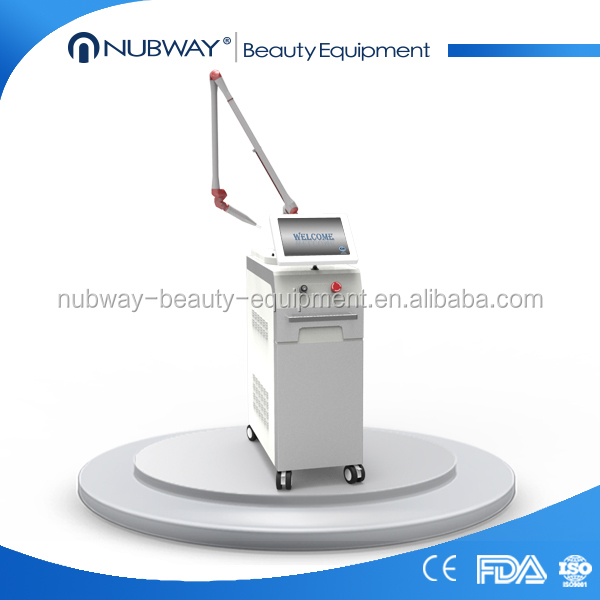 Nubway Q switch nd yag laser for all kinds of dermatological diseases with 1064 long pulse laser tattoo removal machine