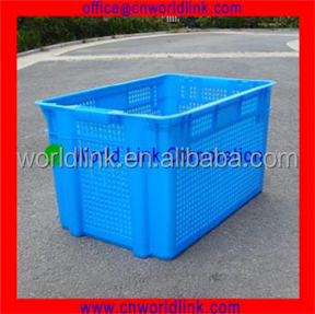 2016 Popular Plastic PE Stacking Mesh Box with Low Price