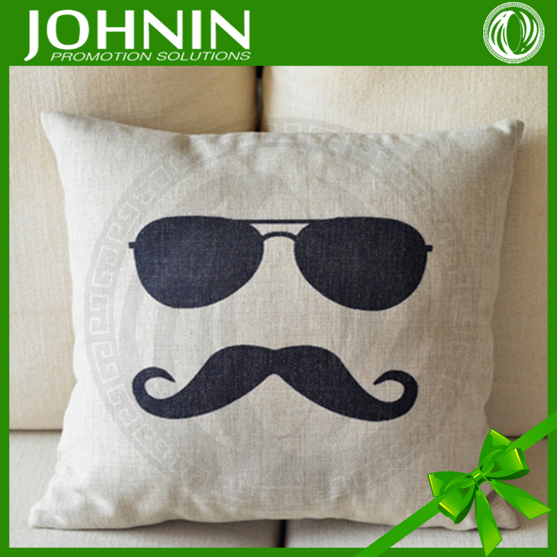 Best Selling Comfortable Custom Logo Cotton Pillow Cover