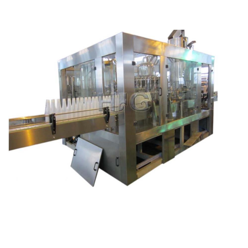 Automatic can granule filling, capping and labeling machine line manufacturer