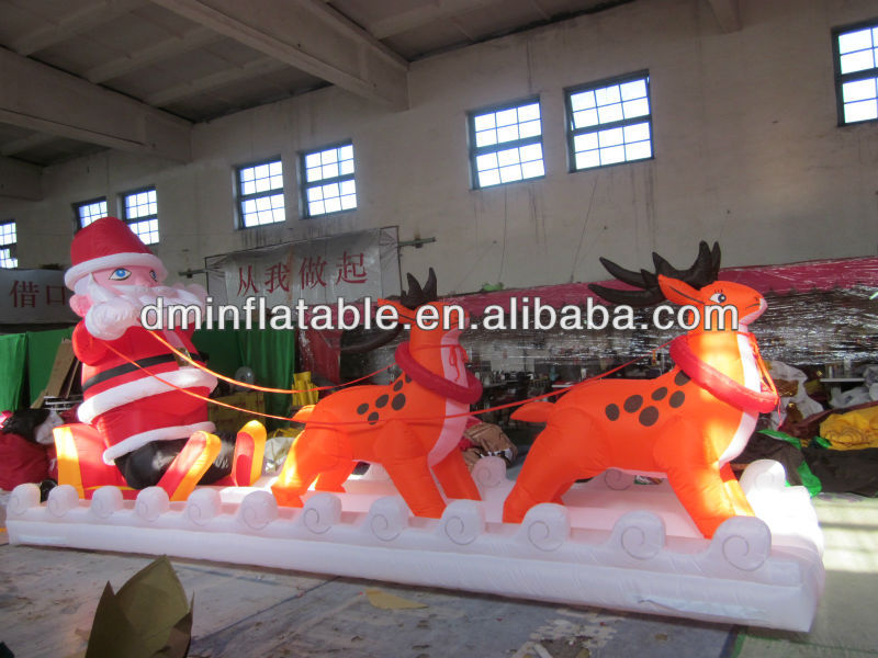 Air blown inflatables christmas and halloween