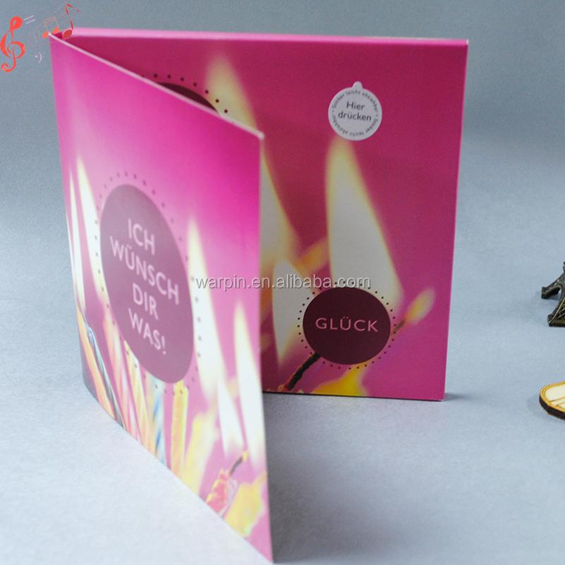 Musical Led Light Module Professional Christmas Cards Invitation ...