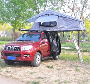 4WD car accessory offroad canvas roof tent solar power tent from China SRT01E-76 ( 2-4 person tent )