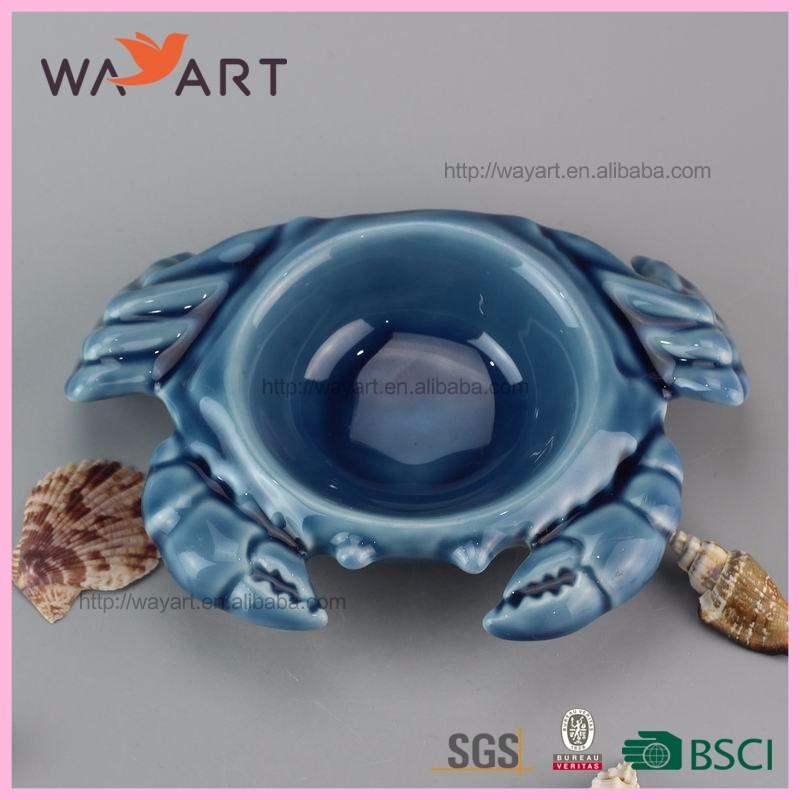 Restaurant Funny Blue Crab Design Ceramic Dishes Plates & Restaurant Funny Blue Crab Design Ceramic Dishes Plates - Buy ...