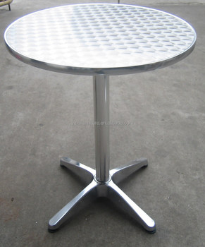 Stainless Steel Round Coffee Table 6