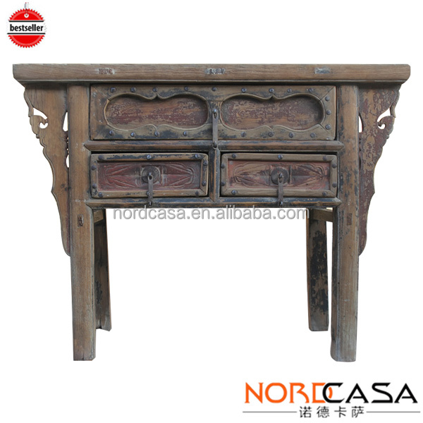 Wholesale Best Selling Chinese Antique Reproduction Furniture Reclaimed  Wood Vintage Long Console Table   Buy Antique Reproduction Console  Table,Luxury ...