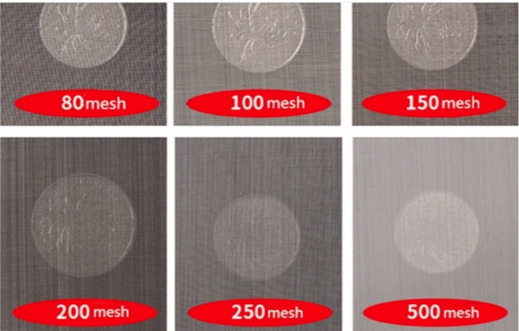 0 25mm 2mm Aperture 304 Stainless Steel Wire Mesh Per