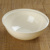 7.5'' Disposable Clear Plastic Frosted Salad Bowl