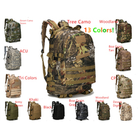 High Quality 3D Military Camo Terrking Tactical Backpack Outdoor Hiking Camping Bags Men Women Travel Shoulder Bag