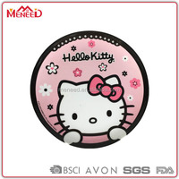 Cat printing Food safety melamine children plates