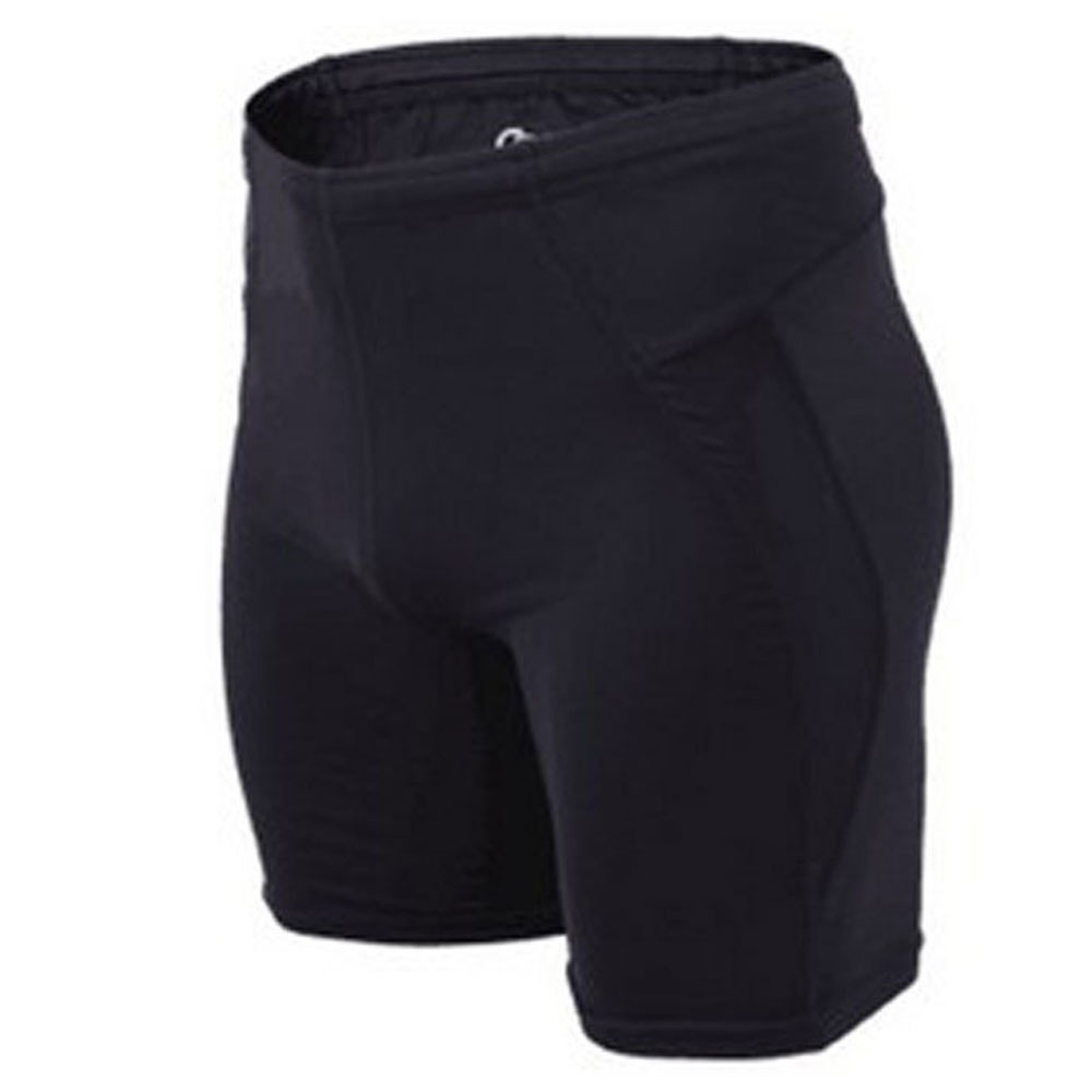 2015Summer Quick Dry Mens Compression Shorts Anti-sweat Running Shorts Tights Men Black Reflective Bermuda Compression Underwear