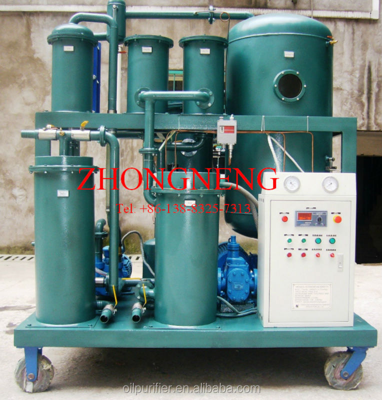 TYA Hydraulic Oil / Cooltant Oil Filtration Equipment, Oil Dewater / Degas Unit