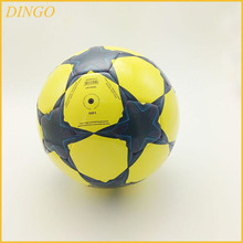 wholesale Lenwave branded Official size 5 custom print pvc promotional soccer ball