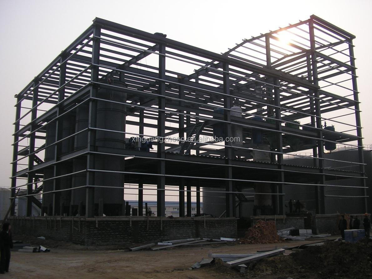 cheap prefab steel structure house metal frame building