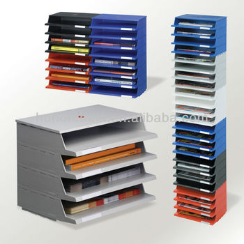 Office Stackable Document Tray File Tray