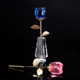 New Arrival Crystal Glass Red Rose Flower for Christmas Gifts Promotion Gifts