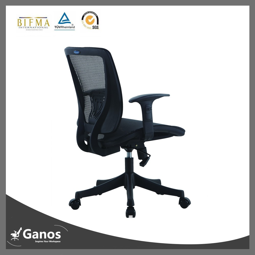 Easy control home office chair furniture stores with adjustable armrest