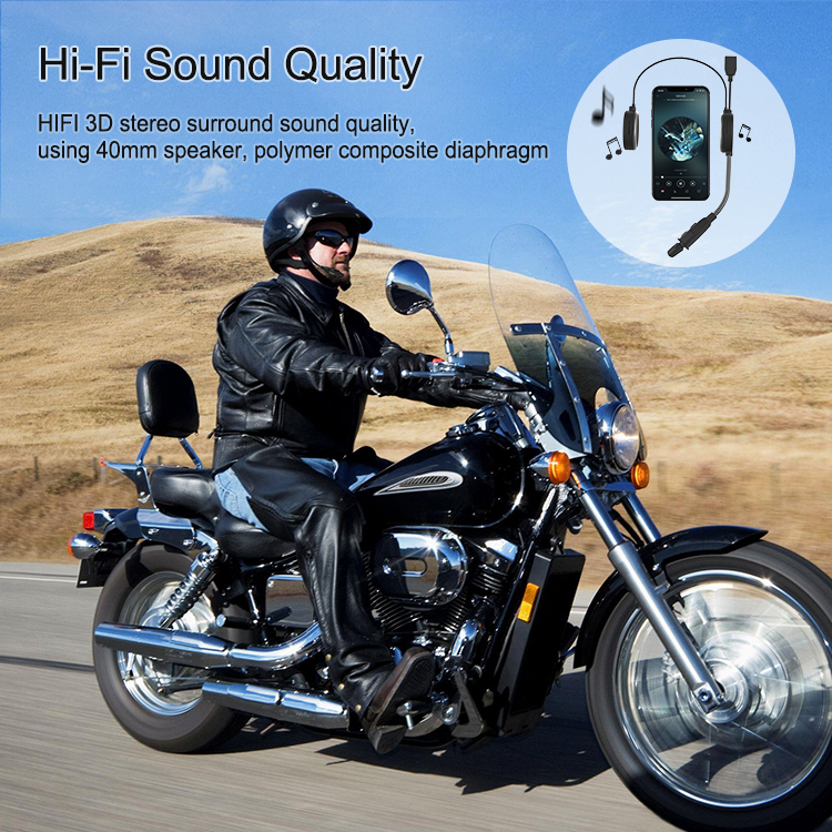 2 way intercom system 300m Bluetooth helmet Intercom other motorcycle accessories