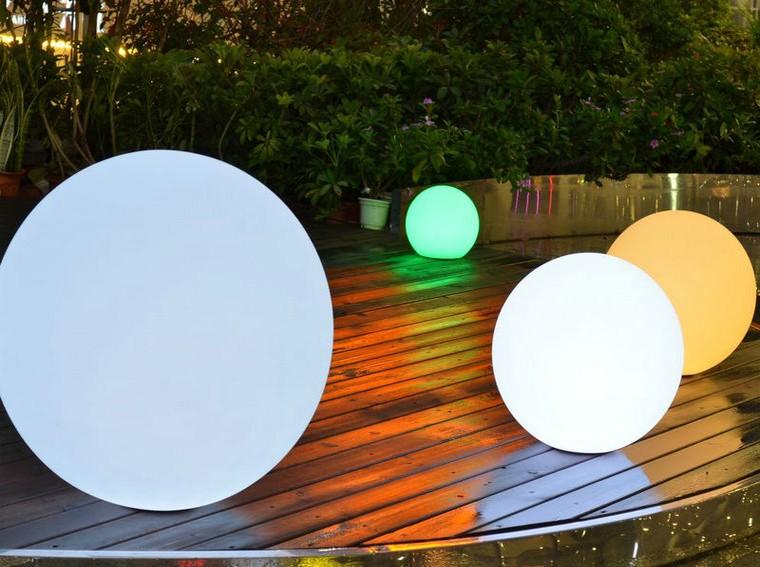 Plastic Led Floor Lamp For Home Decor Polyethylene Lamp Outdoor ...
