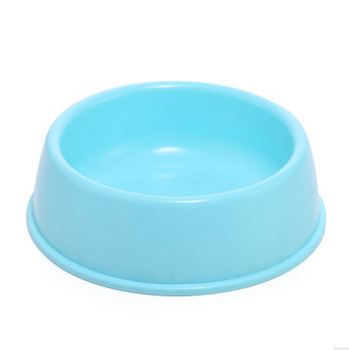 candy color plastic pet bowl pet cat dog puppy food water bowl buy