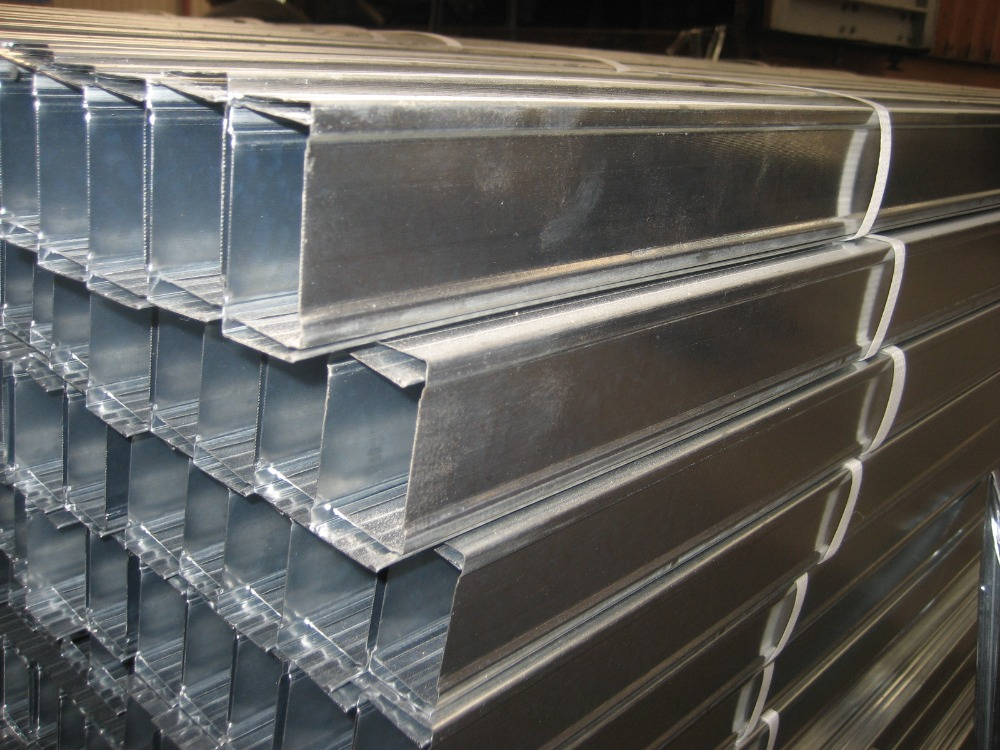 Galvanized Steel Drywall Metal Stud Track Building