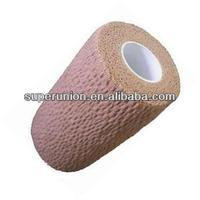 Non-woven skin colored elastic bandages