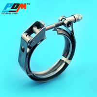 Quick Release And Male Female Flanges V Band Repair Clamp