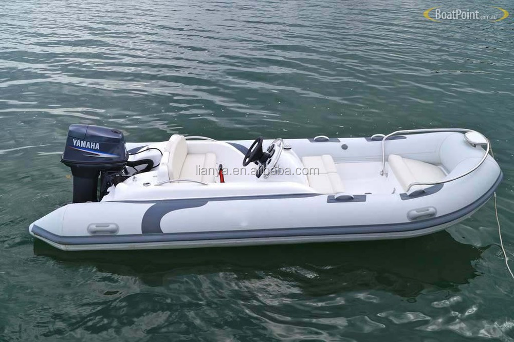 Liya Motor Boats For Sale Fiberglass Rib Rescue Boat 14ft Racing ...