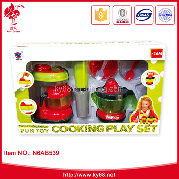 B O Electric Plastic Toy Kids Kitchen Play Tea Set