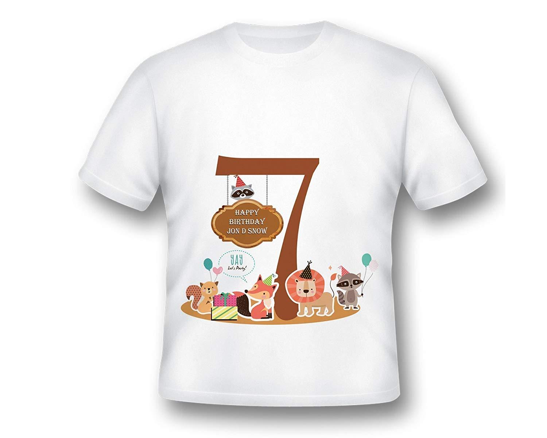 ead10a8e Get Quotations · Custom Printed Jungle Shirt, Animlas T-Shirt, Kids Safari Tee  Shirt, Custom