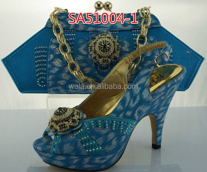 5 shoes shoes nigeria and bag party SA51004 bag high and italian high heel set quality yellow zqSF6wHOcq