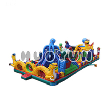 High Quality Manufacturer Wholesale Inflatable Children Amusement Park Fun City Playground Toys