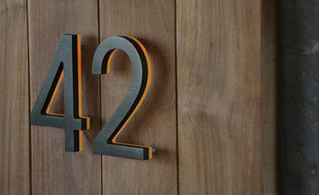 3d Illuminate Metal House Numbers And Letters Buy House