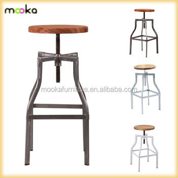 Metal Bar Stool/Antique Swiver Industrial Bar Stool/Replica Wooden Seat Turner Industrial Bar  sc 1 st  Alibaba & Metal Bar Stool/antique Swiver Industrial Bar Stool/replica Wooden ... islam-shia.org