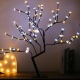 luces de navidad Warm White LED Lighted Cherry Blossom Flower Tree for Christmas/Holiday/Party