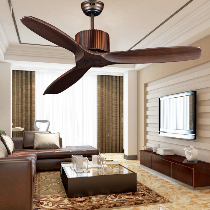 Ceiling Fans For Living Room: European Classical With No Lights Fan Ceiling Fan Light