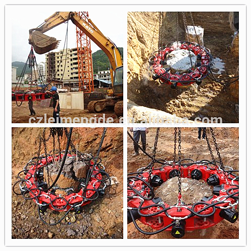 Concrete Pile Head Cutter hydraulic pile breaker for piling work