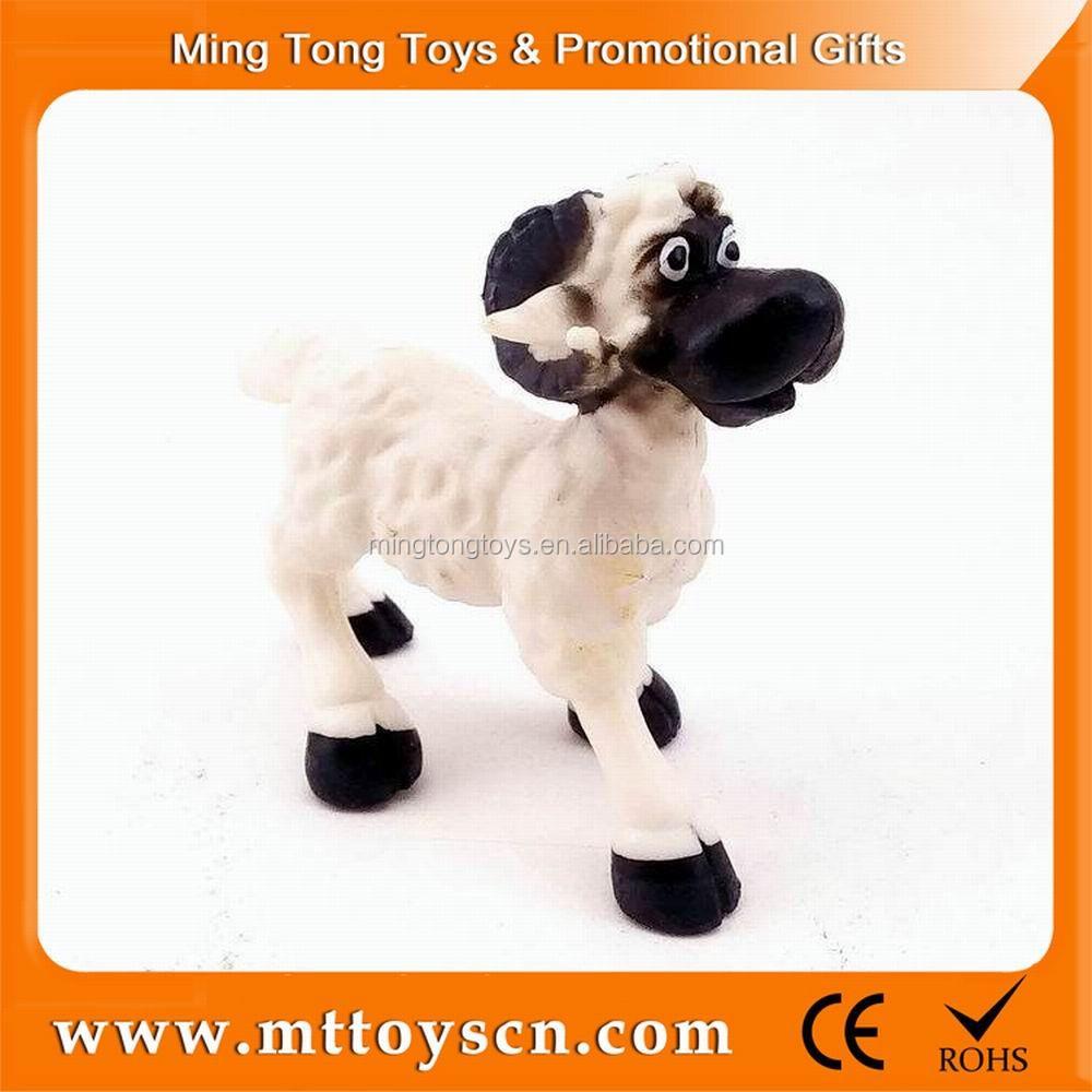 Animaux En Plastique Jouet offres spéciales petit animal en plastique mouton jouet