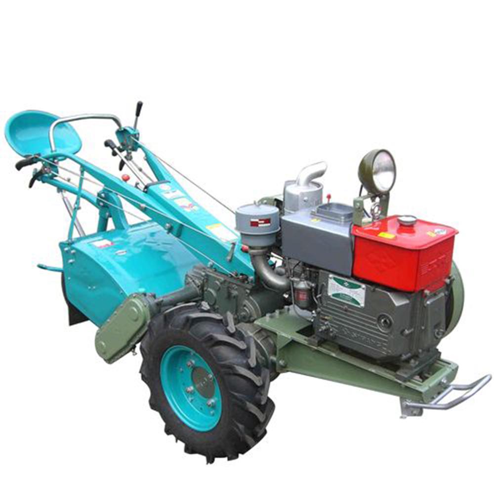Mini paseo manual detrás motocultor de arado del tractor