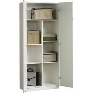 Sauder Beginnings Collection Storage Cabinet, Soft White by Sauder