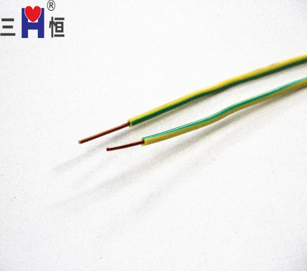 China Green Insulated Grounding Wire Electric Single Copper Core Ground Bv Photos Manufacturers And Suppliers On