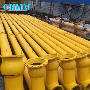 Automatic More Productive Shaft Or Shaftless Heated Hopper Screw Conveyor