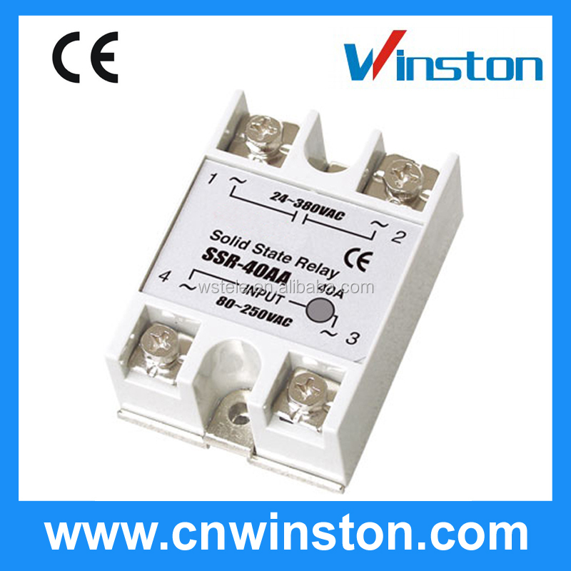 SSR-40DA Type solid state variable relay