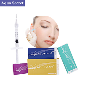 Cross-linked face injection dermal filler hyaluronic acid on sale