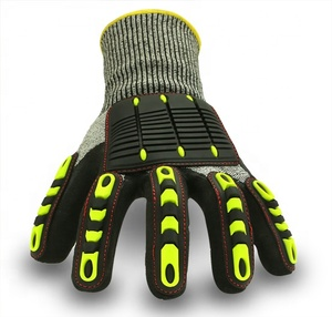 Cut Resistant Level 5 High Impact Mechanic Working Protective Gloves