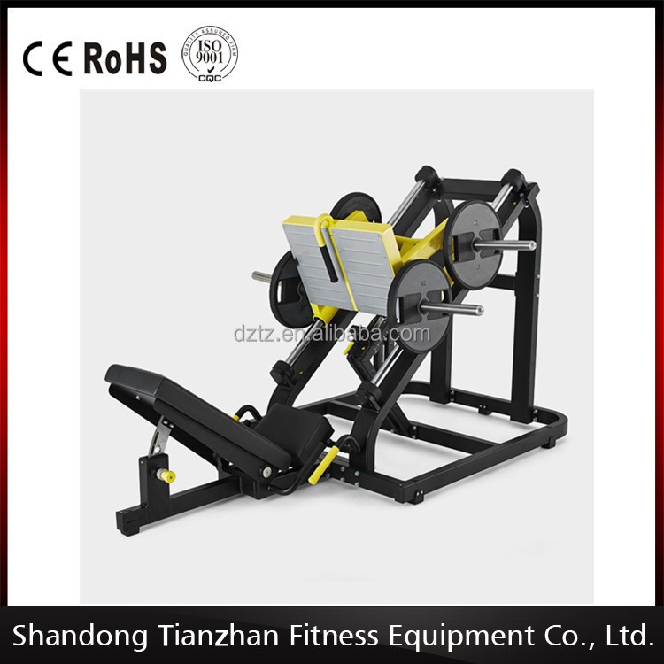 Pure Strength Gym Equipment/Hammer Strength Machine TZ-6078 Linear Leg Press/Plate Loaded Equipment