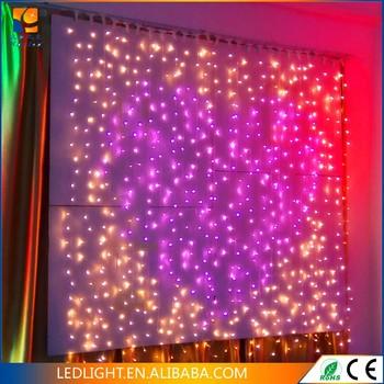Decorativa Cortina De La Secuencialuces Garland Cortina Luces Para Fiesta Y Boda Iluminado Buy Decorativa Cortina De La Secuencialuces Garland