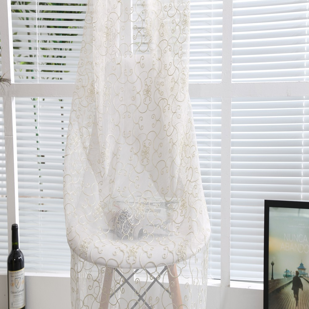 branch white curtain made curtains embroidered elbert floral sheer custom