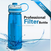 2016 new products water bottle with filter plastic sport water bottle best selling products in america