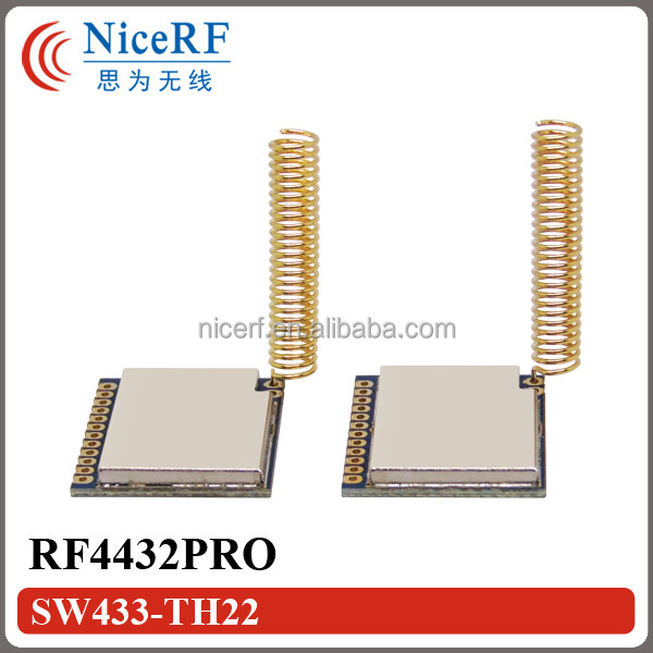 G-NiceRF RF4432PRO - 1km 868MHz si4432 chip FSK RF module wireless transmitter receiver